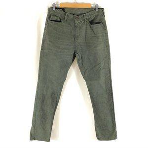 Hollister Mens Jeans Classic Taper Green Stretch